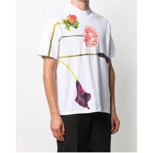 Valentino floral print T-shirt white / multicolor